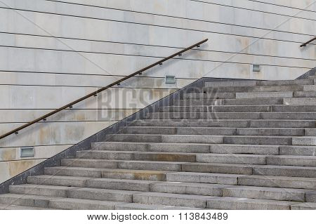 Concrete Stairway