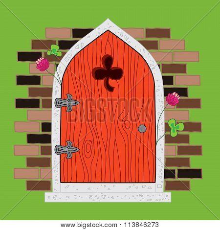 Ireland Wooden Door