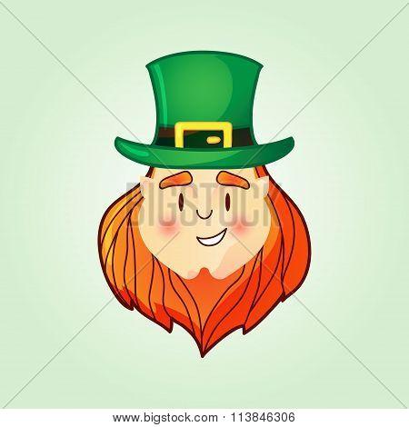 Leprechaun In Top Hat.