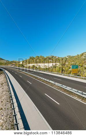 motorway in croatia