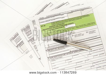 tax declaration, pit