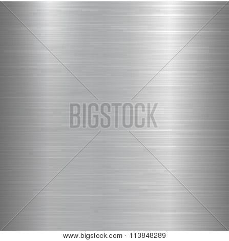 Metallic polished background.
