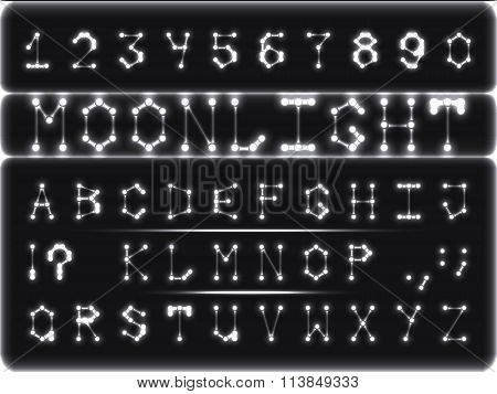 Font-style Moonlight