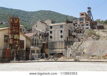 Montevecchio Mine Sardinia