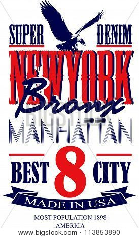 Newyork Poster Graphic Vector Design