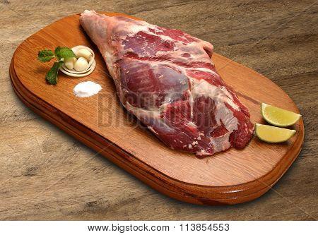 Raw Pork Ham, Pork Leg