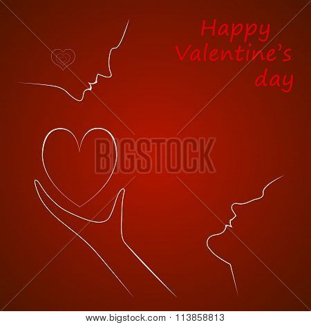 Vector Valentine's Day