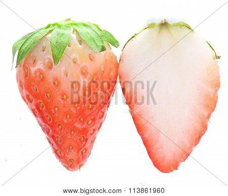 Half-ripe One Strawberriy And A Half