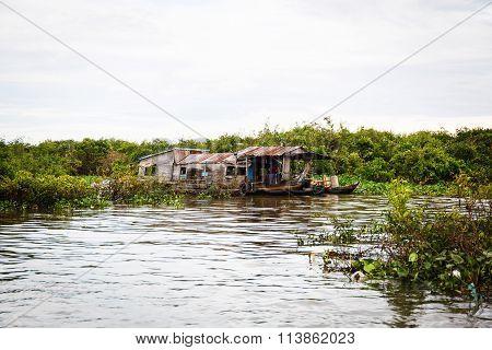 Fishing Village in Cambodia