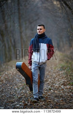 Guitarist In The Park
