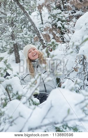 snow and smile