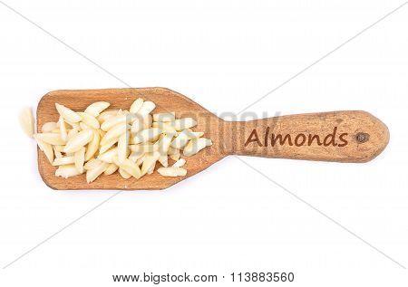 Almond Slivers On Shovel