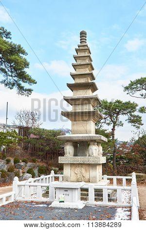 Gilsang Seven Story Pagoda