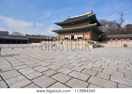 Injeongjeon In Changdeokgung Palace