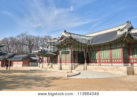 Entrance Of Huijeongdang In Changdeokgung