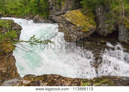 Waterfall On Rauma River
