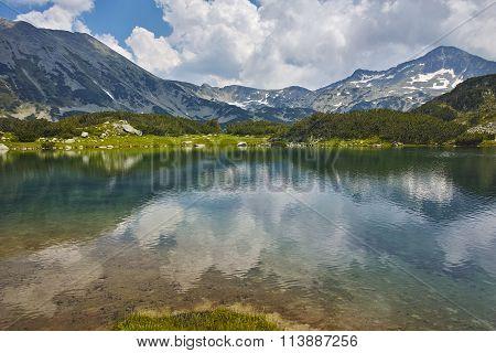 Amazing Panorama around Muratovo lake, Pirin Mountain