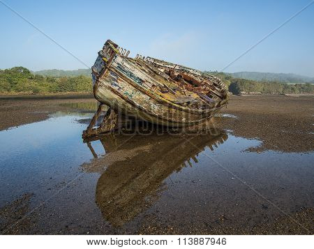 ship wreck Dulas estuary