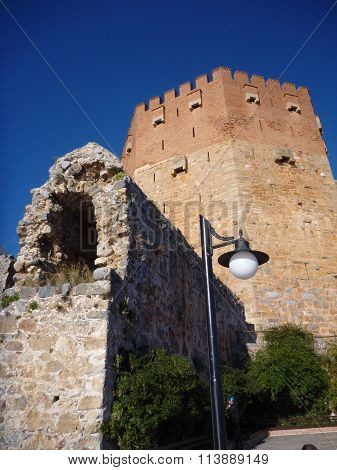 The Tower Of Alanya Castle