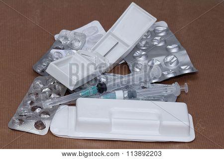 Medicines Pile