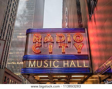 The Radio City In Winter