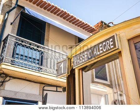 Passeio Alegre (happy Ride) Tram
