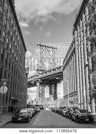 Manhattan Bridge From Dumbo