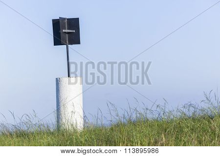 Beacon Marker Rural Hilltop