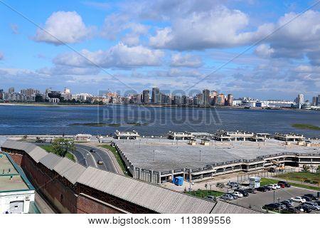 View Of The River Kazanka From The Kazan Kremlin