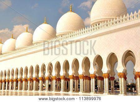 Arcade, Grand Mosque Abu Dhabi