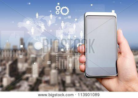 Mobile internet.