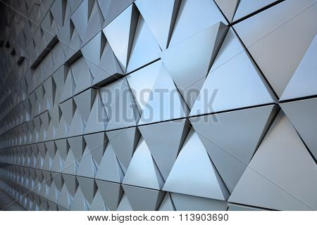 Abstract architectural detail