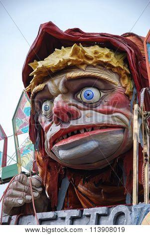 Parade Float During The Carnival Of Viareggio