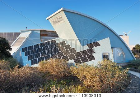 Bioclimatic Houses in the South of the island of Tenerife