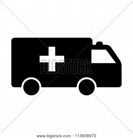 Black Ambulance icon