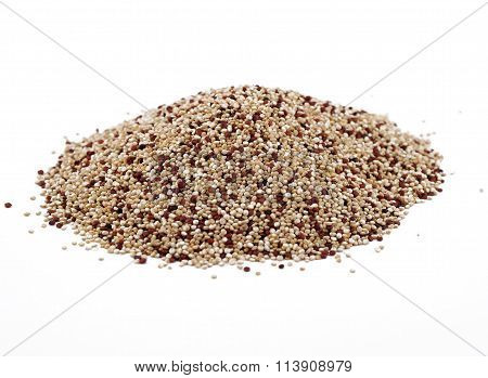 A scattering of quinoa