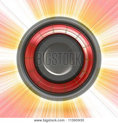 Modern Button Or Icon