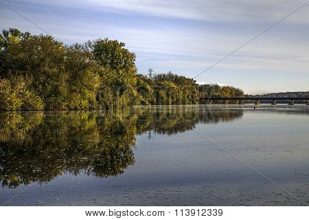 Autumn on the Mohawk River