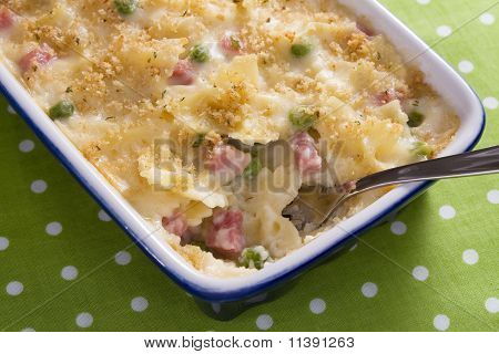 Ham and Noodle Casserole