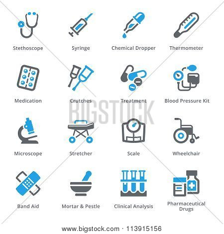 Medical Equipment & Supplies Set 1 - Sympa Series