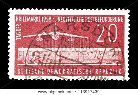 German Democratic Republic 1958
