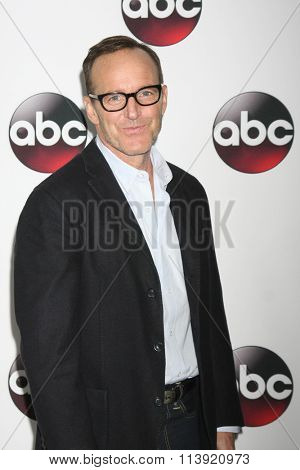 LOS ANGELES - JAN 9:  Clark Gregg at the Disney ABC TV 2016 TCA Party at the The Langham Huntington Hotel on January 9, 2016 in Pasadena, CA