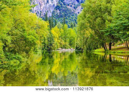 Arco River, Trentino, Italy
