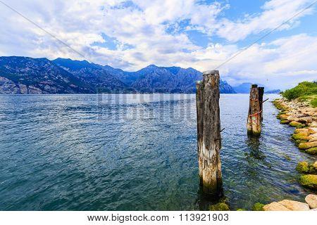 Lake Garda (Lago di Garda), Malcesine, Italy