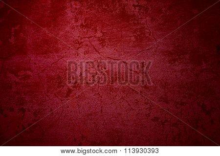 Old Grunge Background Red