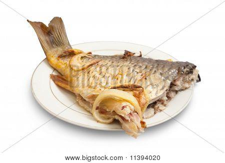 Grilled Carp Fish