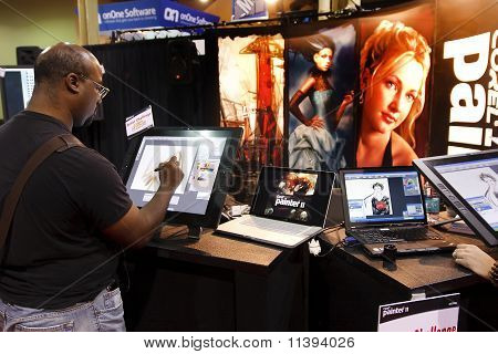 Vendor At Photoshop World Conference & Expo