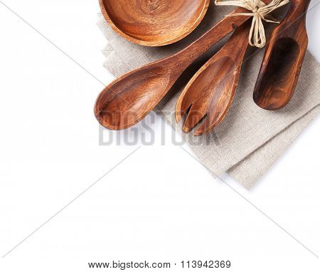 Cooking utensils. Isolated on white background