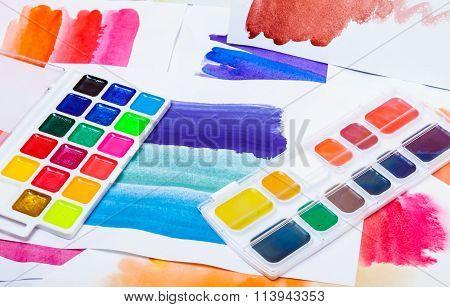 New Watercolor Paints