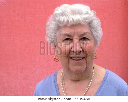 Grandmother Smiling